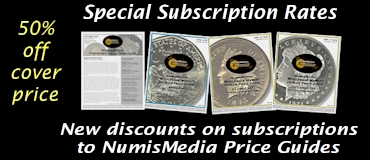 50% Off NumisMedia Price Guides