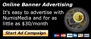 NumisMedia Online Banner Advertising
