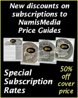 Special Subscription Rates for NumisMedia Price Guides