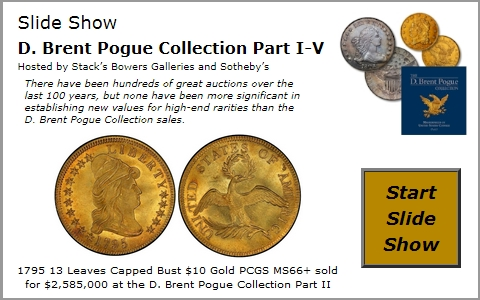 Numismedia photo gallery & fmv price guide full head standing.