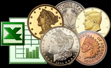 NumisMedia Price Guide Database Licensing Excel Format