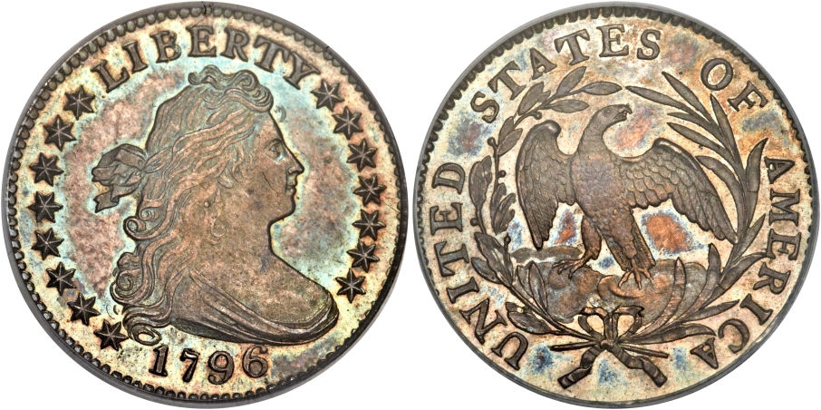 Bust Dimes Draped Bust Type