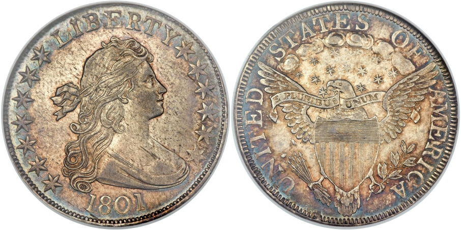 Early Half Dollars 1801