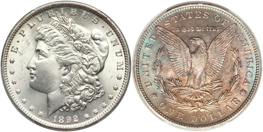 Morgan Dollars 1892