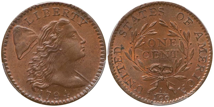 Large Cents 1794 Head of 1794 BN