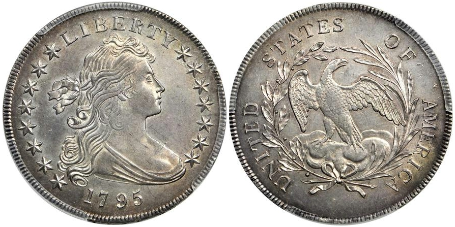 Early Dollars 1795 Sm. Eagle