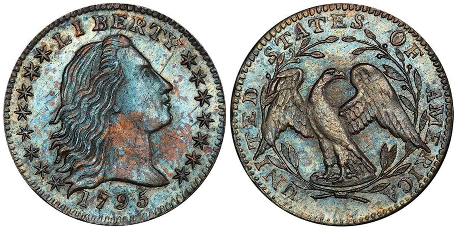 1795 Flowing Hair Half Dime PCGS MS66 CAC
