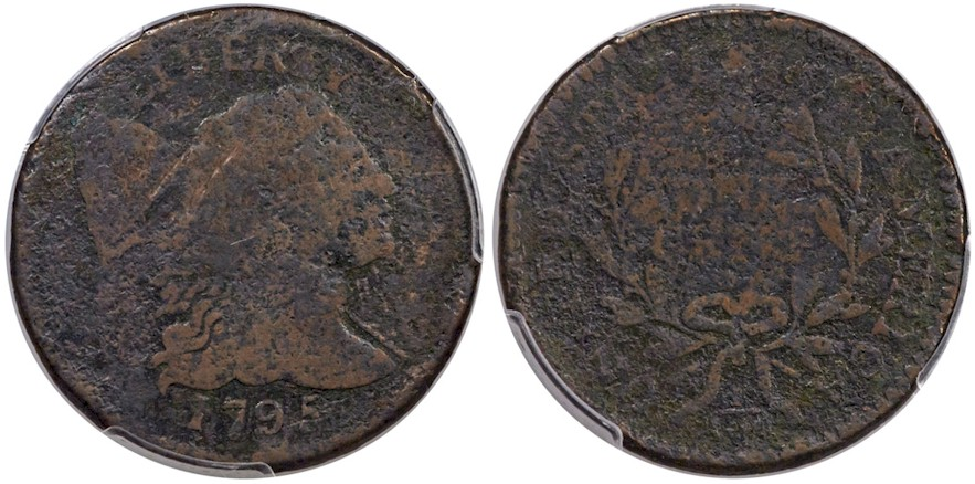 Large Cents 1795 Reeded Edge BN