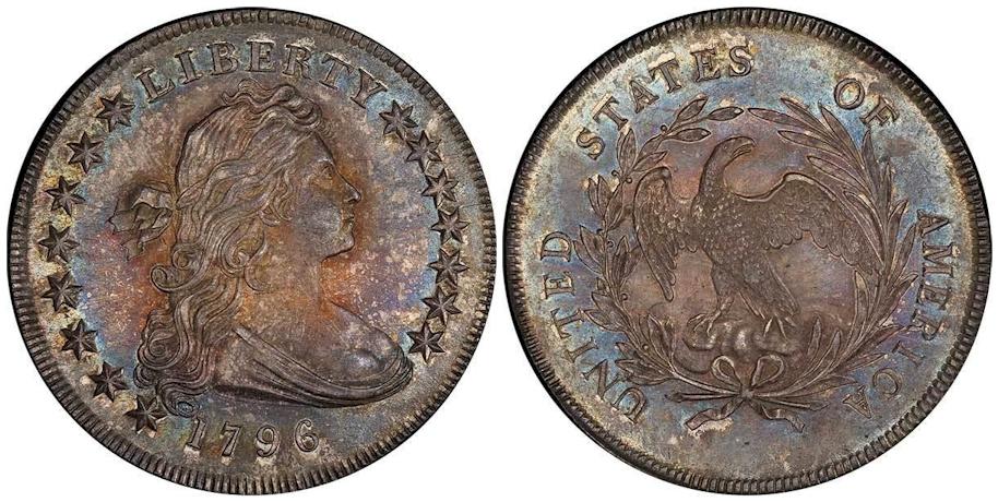 Early Dollars 1796