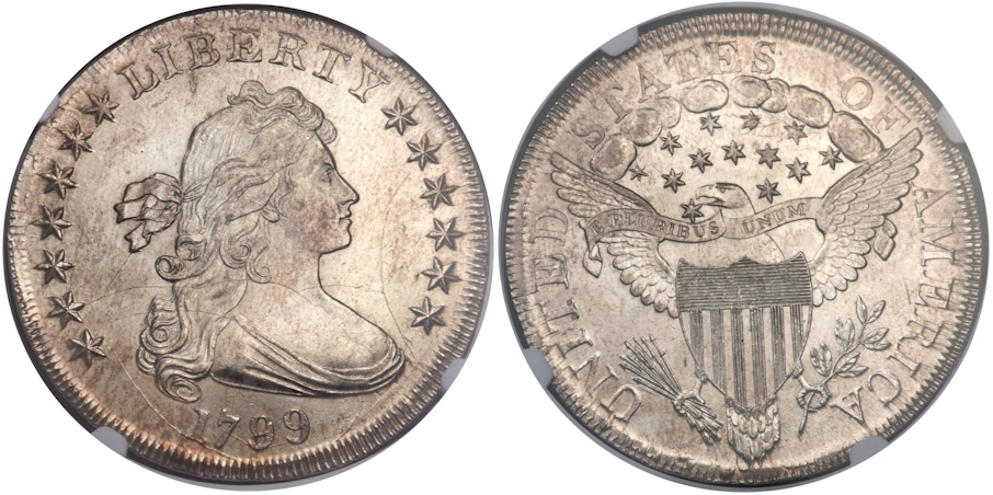 Early Dollars 1799