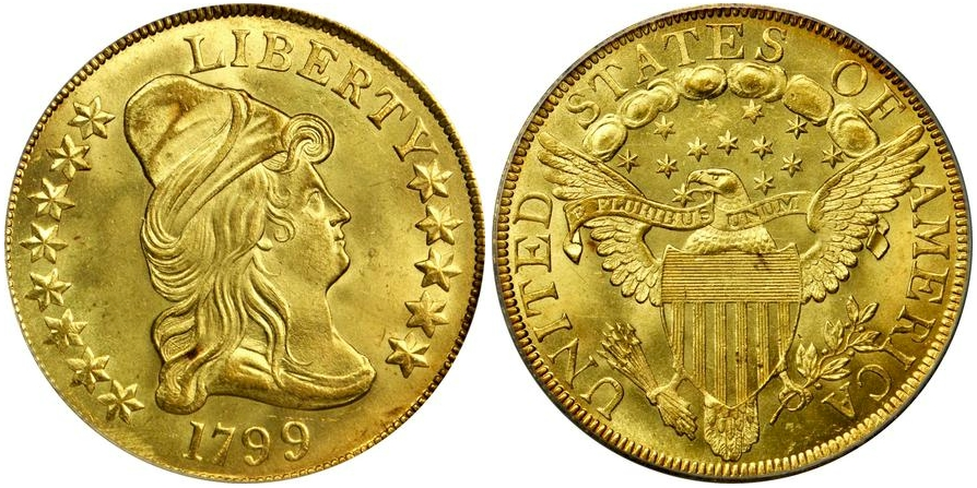 $10 Gold 1799