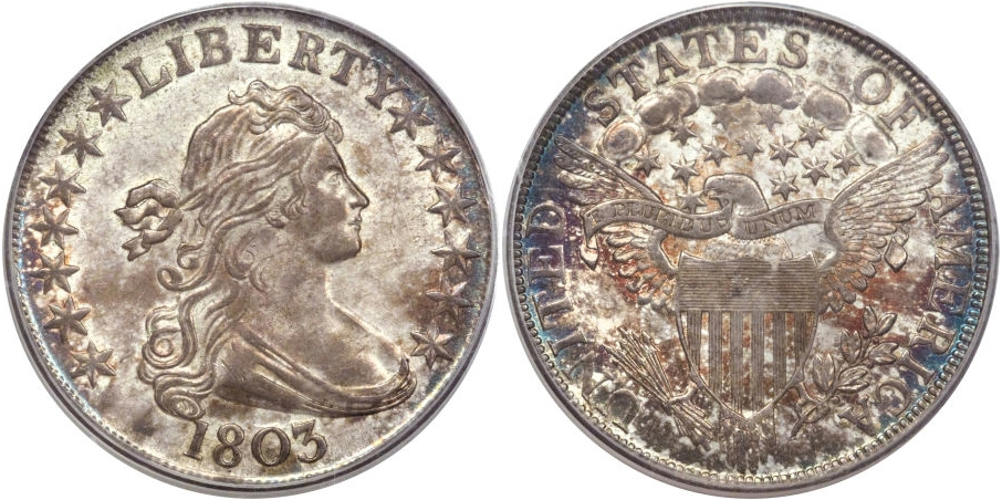 Early Half Dollars 1803 Large 3