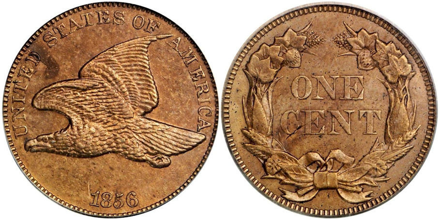 Flying Eagle Cents 1856