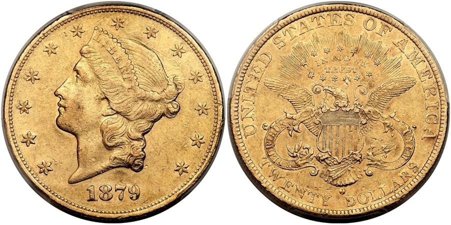 $20 Gold 1879 O