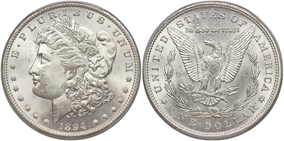 Morgan Dollars 1894