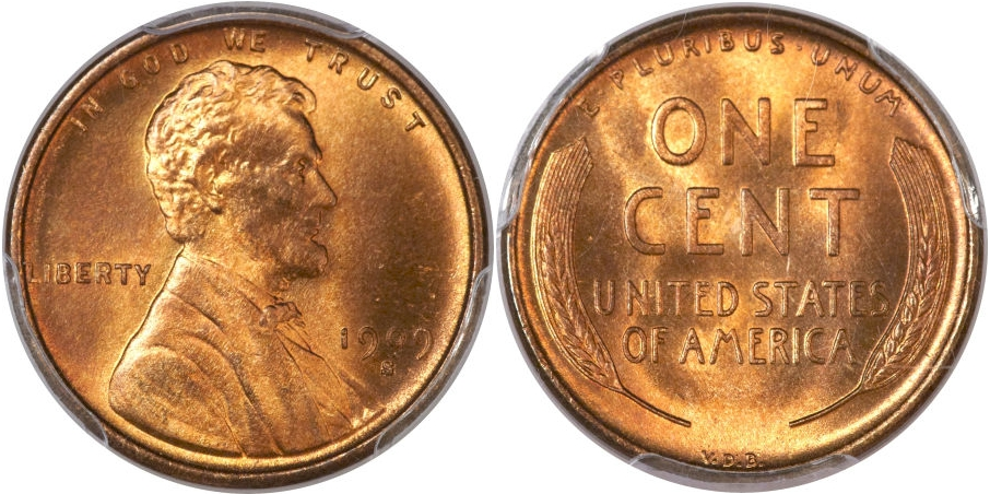 Lincoln Cents 1909 S VDB RD