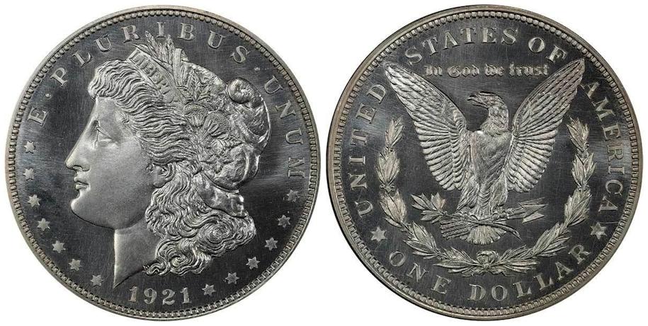 1921 Chapman Dollar PCGS PR67