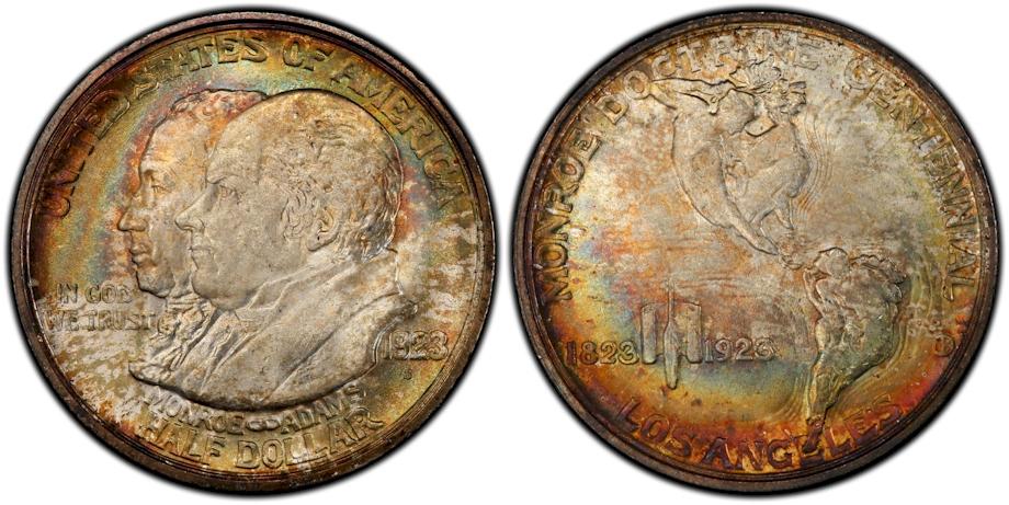 Silver Commemoratives 1923 S Monroe Doc