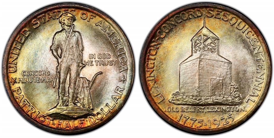 Silver Commemoratives 1925 Lexington