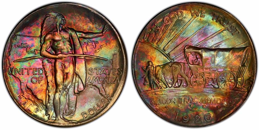 Silver Commemoratives 1926 Oregon Trail