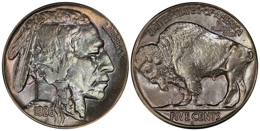 1926 S Buffalo Nickel PCGS MS65+ CAC