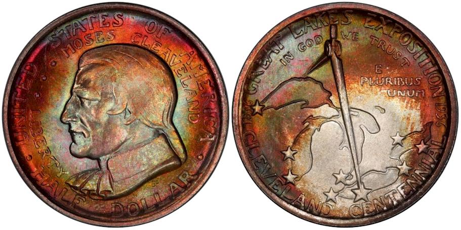 Silver Commemoratives 1936 Cleveland