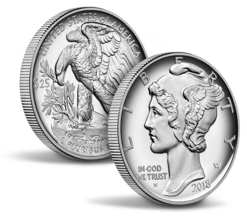 $25 One Ounce Proof Palladium Coin